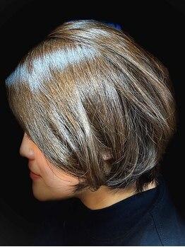 ヘアールーム ラバ(Hair room LABA)の写真/360度細部までこだわるカット技術で、髪質・骨格を活かした絶妙バランスのショートstyleをご提供♪