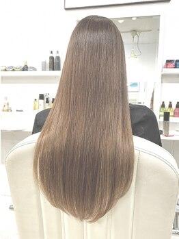 ベニス(VENICE)の写真/【カラーデザインをダメージレスで】SNSで話題!高い毛髪強度回復率のTOKIOトリートメントで柔らかい髪へ