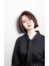 ロココ(hair design rococo)【rococo】小顔ワンサイドショートボブ
