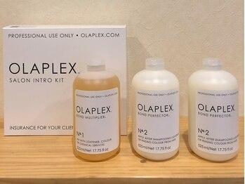 ギフト ヘアーアンドライフドレッサーズ(gift Hair&Life Dressers)の写真/世界を代表する科学者が開発に関わったケアトリートメント「OLAPLEX」をgiftオリジナル処方で♪