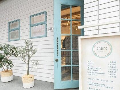 キャリコ(calico)の写真