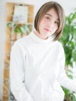 ココデサロン ハナレ 浅草(cocode salon HANARE)【浅草美容院HANARE】メッシュカラーで大人ミニボブc