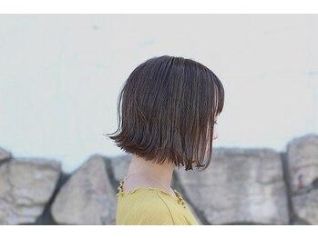 オン(ON)の写真/《乾かすだけでキマル》髪質を見極めた、ナチュラルで再現性のあるcutを追求。毎日乾かすだけでキマル。
