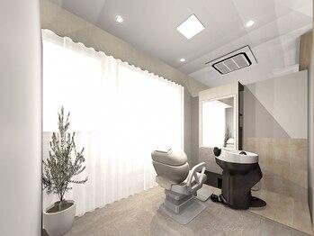"""コットンヘアケアアンドスパ(Cotton haircare&spa)の写真/《完全個室/マンツーマン》贅沢なあなただけのプライベート空間で、""""キレイ×癒し""""の両方を叶えます☆"""