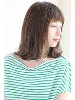 ガーデン オモテサンドウ(GARDEN omotesando)【GARDEN伊藤愛子】切りっぱなし外ハネボブ ワイドバング