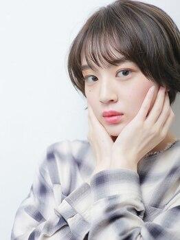 アントワープトーキョー(antwerp TOKYO)の写真/前髪×顔周りの似合わせカットで、あなたの印象はここまで変わる!骨格補正カットで憧れの小顔魅せヘアに♪