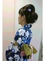横濱ハイカラ美容院(haikara美容院)浴衣アップ