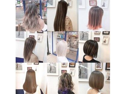 ヘアースタジオ ハーフバック 高尾店(HAIR STUDIO HALF BACKS×1/2)の写真