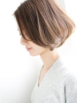 ランコントル(rencontre)の写真/円山エリアでショートヘアにしたいなら【rencontre】☆計算されたカット/デザインでワンランク上のstyleへ