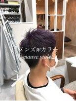 ダブルケーツー 倉敷店(wk-two)☆メンズwカラー mauve violet☆