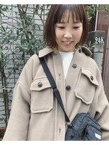 ケンジ 横浜(KENJE)#春ボブ#透明感ベージュカラー