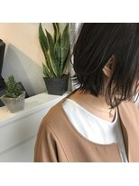 【LIEN by key】2018伸ばしかけボブ/ラフスタイリングで★