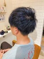 ルルカ ヘアサロン(LuLuca Hair Salon)LuLucaお客様☆スナップ blue-blackカラー