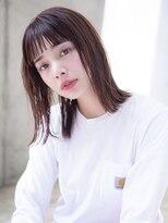 [Taylor]☆大宮 フォギーベージュ×パッツン前髪