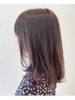 サラ ニジュウイチ ビューティーサイト(SARA21 Beauty Sight)パープルインナーカラー