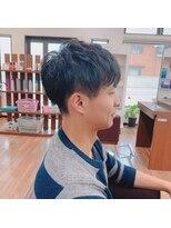 アールピクシー(Hair Work's r.Pixy)マッシュピンパーマ