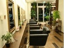 美容室 ペパームーン 印旛日本医大駅前の雰囲気(癒しの緑を感じられる上質空間…♪)
