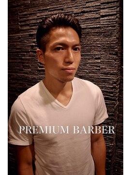 プレミアムバーバー 原宿店(PREMIUM BARBER produce by HIRO GINZA)ワイルドバックスタイル【原宿】