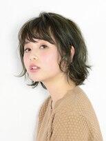 アース 八王子店(HAIR&MAKE EARTH)楽ちん♪万能セミウェットボブスタイル