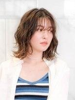 オーブ ヘアー ニア 御茶ノ水店(AUBE HAIR nia)【AUBE HAIR】大人ルーズパーマ
