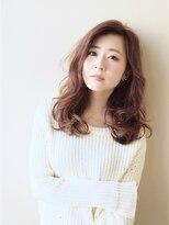 アフロートジャパン(AFLOAT JAPAN)【AFLOAT JAPAN 森しづか】パーマでイメチェン☆セミロング