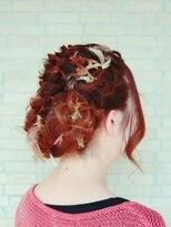 ヘアーアンドリラクゼーション ラシック(Hair&Relaxation LA.CHIC)毛糸編み込み