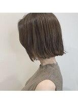 セカンド(2nd)小顔カット/ボブ/ワンレン/ボブルフ/濡れ髪/髪質改善