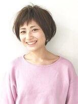 エトネ ヘアーサロン 仙台駅前(eTONe hair salon)【eTONe】ショートボブ×ショートバング