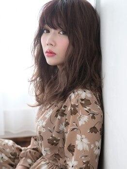 """アミュゼ(amuser)の写真/ハーブ白髪染め+Cut¥3900★デザインだけでなく""""品質と綺麗さ""""にこだわる大人女性のためのカラー♪"""