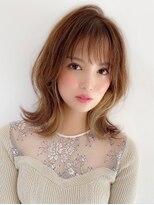 アグ ヘアー フェール 鳳駅前店(Agu hair faire)《Agu hair》シースルーバング×ウルフミディ