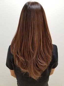グー(GOO)の写真/[髪質改善]ダメージで悩んでる方へ…傷んだ髪を内部から改善!髪質改善トリートメントで大人の美髪に…♪