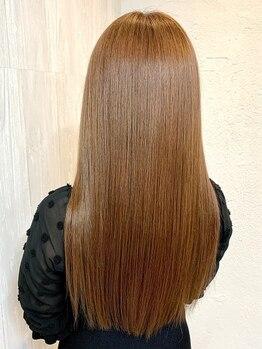 グロス(GROSS)の写真/【お手軽『美髪コース』 ¥5800】人気の髪質改善メニュー☆繰り返すカラー/エクステによるダメージをケア◎