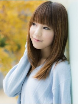 イリス(Iris)の写真/国内TOPクラスの【TOKIOインカラミトリートメント】で気になる毛先のパサつきも補修☆感動のうるツヤ髪へ♪