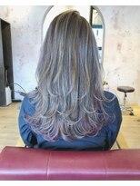 ヘアーサロン リアン 熊谷2号店(hair salon Rien)#インナーカラー#ピンク
