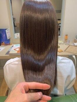 ロッコ(ROCCO)の写真/【自由に質感コントロール】髪質改善コース《NEW*髪質改善導入!》髪が自然に改善されTr後の様な柔らかさに