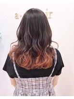 アドゥーヘアー(A do hair)apricot orange