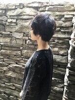 リリー(LiLy)黒髪permショート