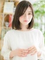 【錦糸町美容院Agate】スモーキーカラー☆ワンカールロングボブb