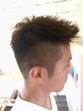 ヘアサロン グランシー(Hair Salon Gransea)外国人風刈り上げショート