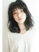 ガーランド (Garland)[Garland/表参道]☆エアリーな透け感ミディ☆