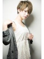 【keep hair desigin.木田】☆マニッシュなクールベリーショート
