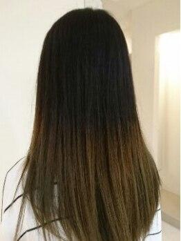 カミーノ(camino)の写真/お客様一人ひとりの髪の悩みに合わせてケアメニューを選択。施術後には今まで体験したことのない手触りに!