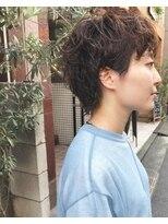 ケンジ 横浜(KENJE)#ショートウルフ#コスメパーマ