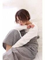 【Loco by neolive】 フレンチラフウェーブ×切りっぱなしボブ
