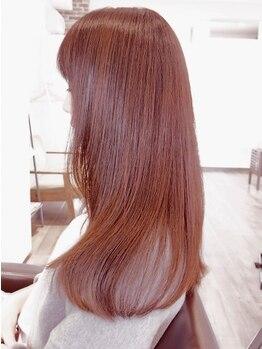 ルクステラスヘアサロン(Luxe Terrace hair salon)の写真/髪のお悩み相談もお任せ♪マンツーマンの丁寧なカウンセリングで、お客様に寄り添い、改善に導くご提案を♪