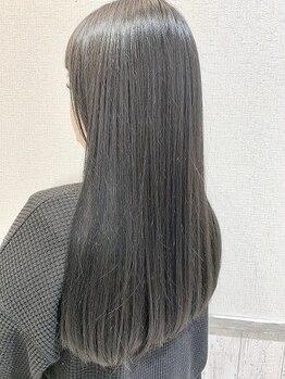 ファーストエンド 三ツ屋店(1st END.)の写真/【カット+カラー+トリートメント¥6400★】のお手頃価格が◎SNSで話題の髪質改善サイエンスアクア取り扱い♪