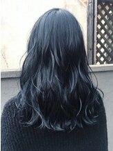エンヘアー(en hair)さりげなくシンプルだけど可愛い、ブルーブラック◎