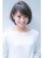 アンアミ オモテサンドウ(Un ami omotesando)【Un ami】大人かわいい・小顔ボブパーマヘア 松井