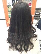デュオ ヘアー エクステンションズ 渋谷店(DuO hair Extentions)黒髪×巻髪でゴージャスな大人スタイルに☆彡