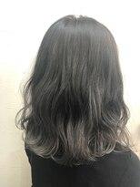 ヘアーアンドメイク ポッシュ 新宿店(HAIR&MAKE POSH)グレーグラデーション